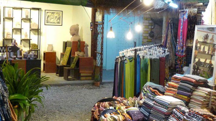 Boutique marché de nuit Siem Reap poivre & Ko la boutique officielle du poivre de Kampot