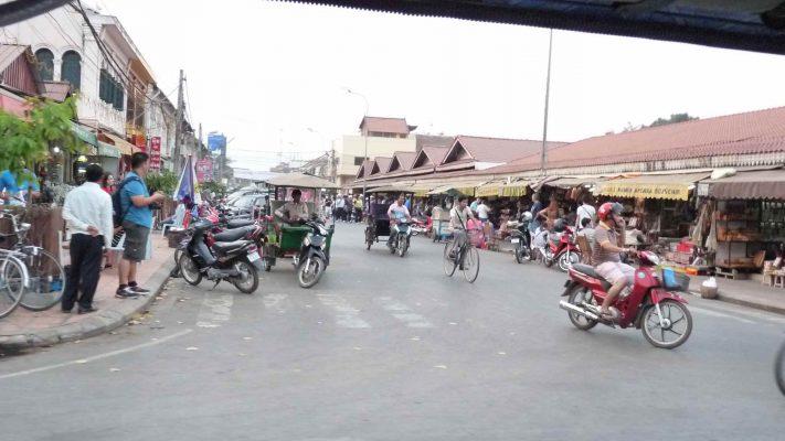 Circulation à Siem Reap