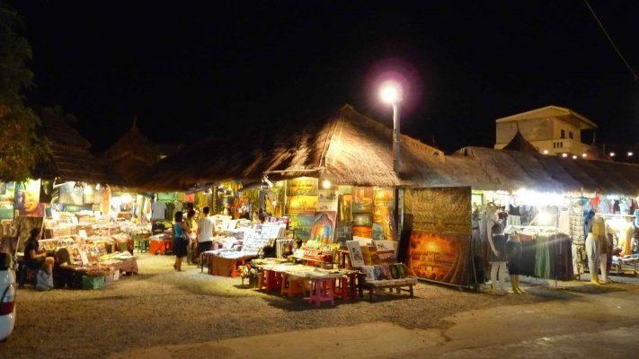 Marché de nuit à Siem Reap