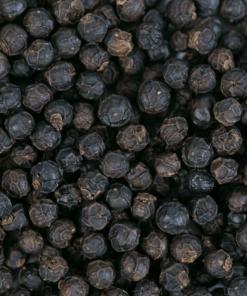 grains de poivre de kampot noir details