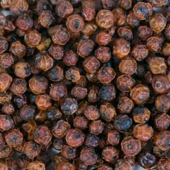Grains details poivre de Kampot rouge