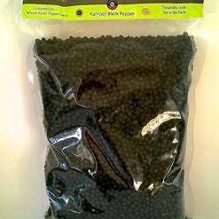 sachet de 1 kg de poivre de Kampot noir