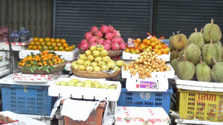Marchand de fruit à Siem Reap poivre & Ko la boutique officielle du poivre de Kampot