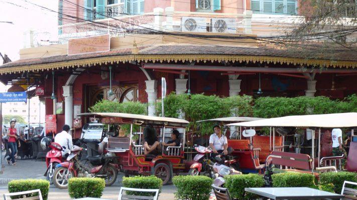 Tuk tuk à Phnom-Penh