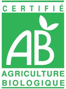 Logo officielle AB certifié France