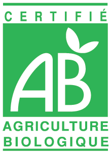 Logo officielle AB certifié France
