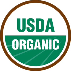 Logo USDA Organic food color