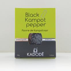 Boite poivre de Kampot noir face nouveau packaging