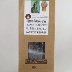 Poivre de Kampot au sel