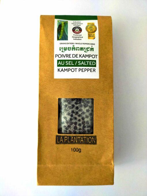 Sachet-face-poivre-de-Kampot-au-sel-100g Poivre & Ko